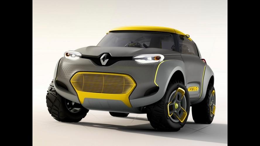 Salão de Nova Déli: Renault Kwid Concept revive o estilo buggy