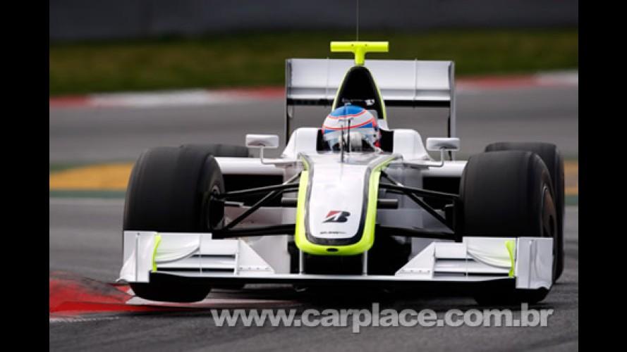 Fórmula 1: Brawn GP faz dobradinha em seu 1° GP com Button e Barrichello
