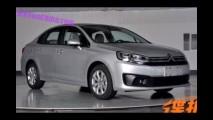 Flagra: novo Citroën C4 sedan está pronto para o lançamento na China