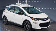 Chevy Bolt autonomous test car