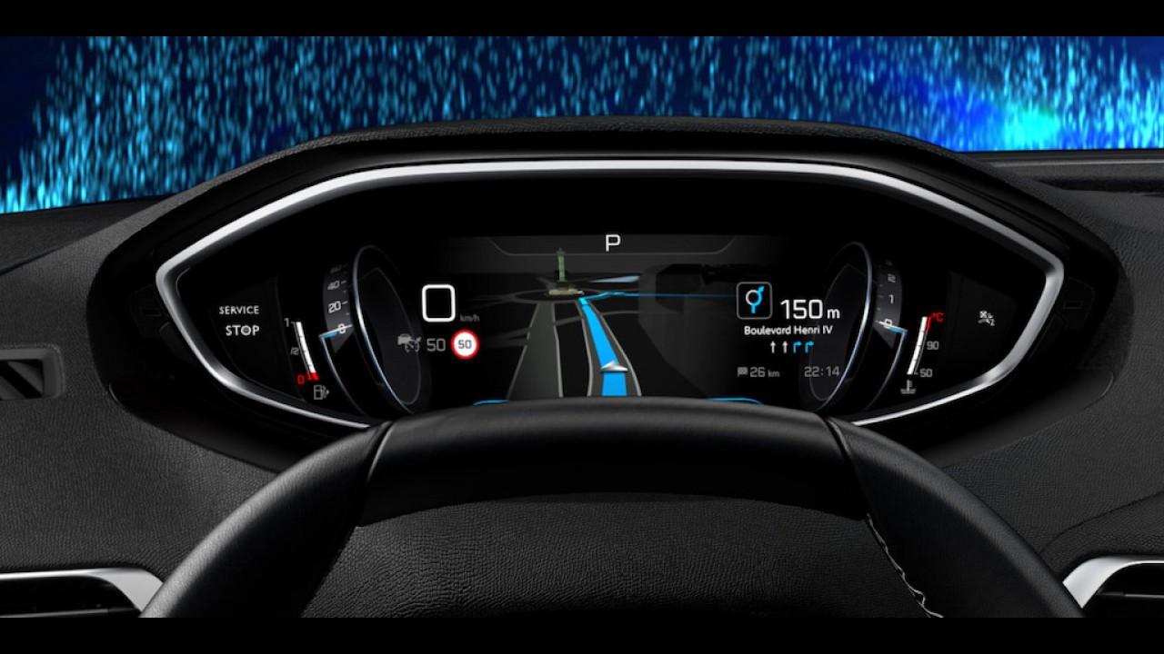 Flagra! Novo Peugeot 3008 2017 fica mais SUV e menos minivan