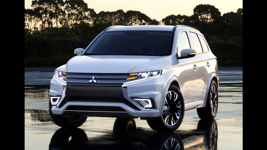 Mitsubishi Outlander estreia design mais agressivo em abril
