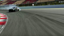 Vaughn Gittin Jr. en drift sur le circuit de Catalunya