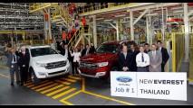 Incerto para o Brasil, Ford Everest também será feito na África do Sul