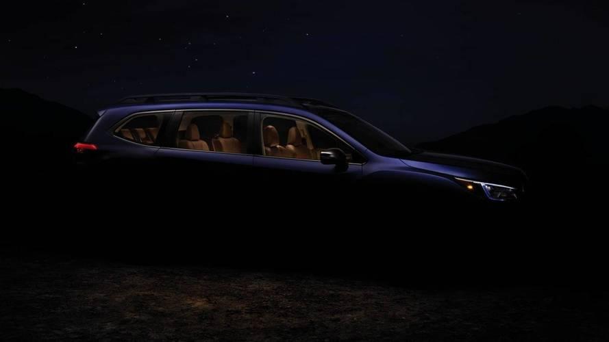 Subaru adianta teaser do Ascent, um