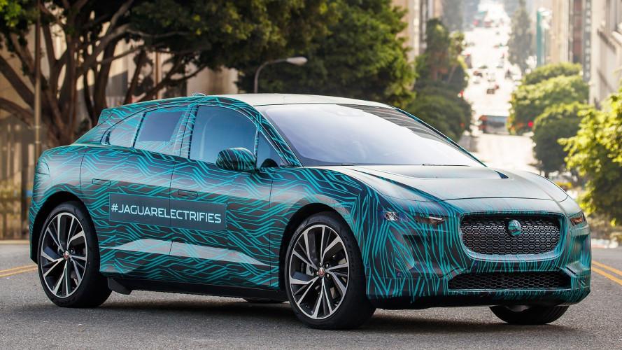 Jaguar I-Pace, quasi pronta al debutto