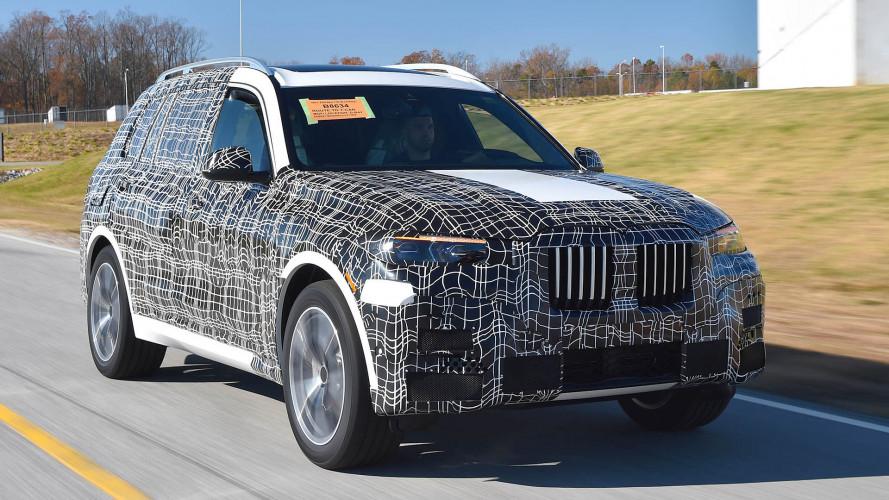 BMW X7: Erste Bilder