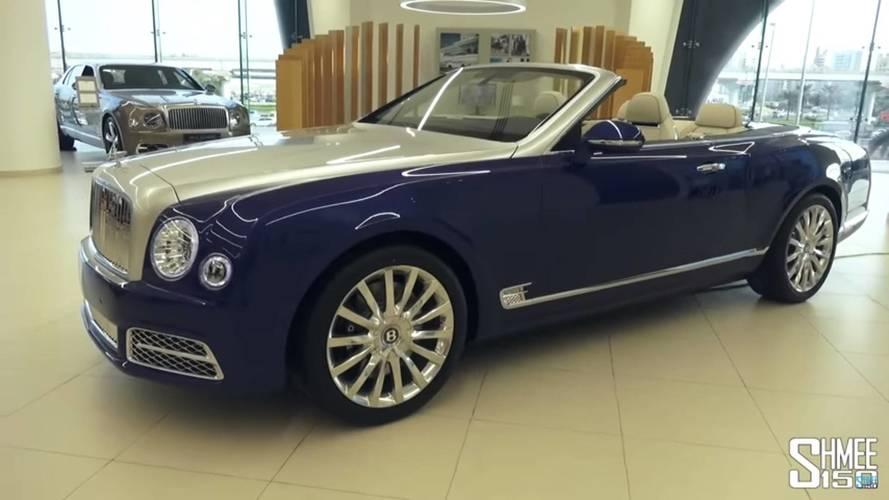 Bentley présente l'opulente Mulsanne Grand Convertible à Dubaï