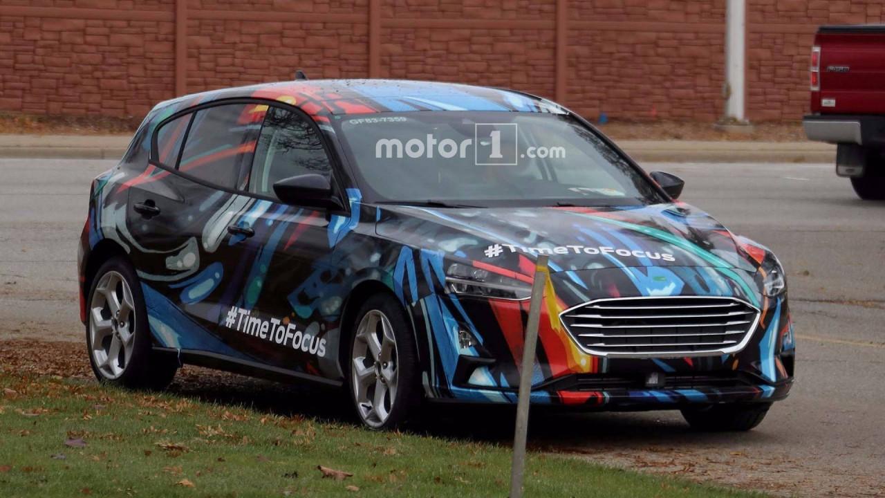 Nuova Ford Focus, le foto spia