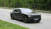 Rolls-Royce Ghost spy photos