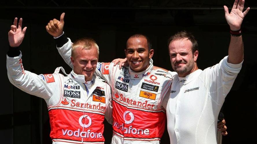 Hamilton Grabs Pole in Valencia as McLaren lock out Front row