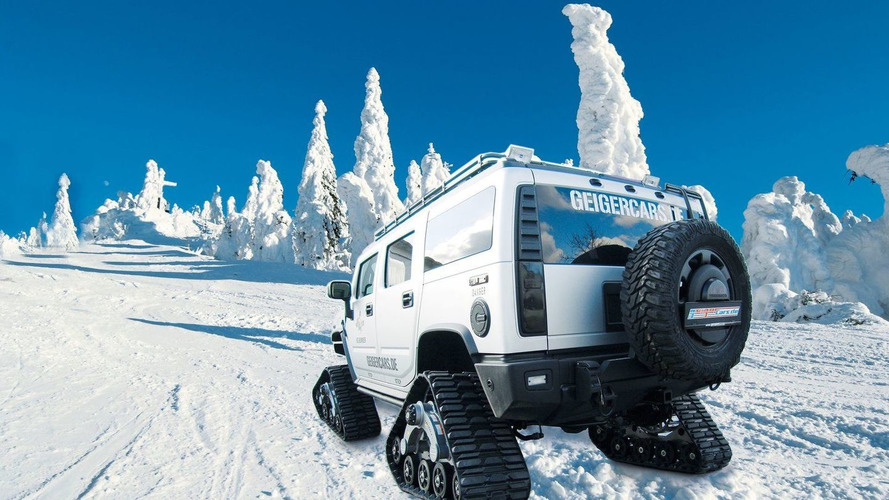 GeigerCars Unleashes Hummer H2 Bomber