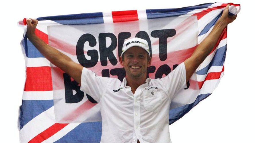 No party as champ Button returns to Europe
