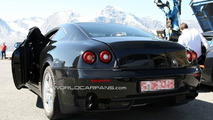Ferrari 612 Scaglietti test mule spy photo