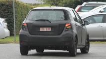 2012 Toyota Yaris prototype spy photo