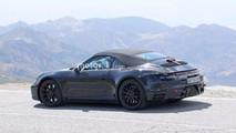 Yeni Porsche 911 Convertible casus fotoğraflar