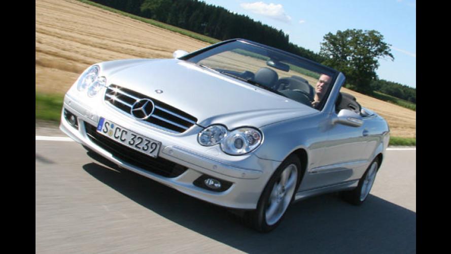 Mercedes CLK 320 CDI: Alles andere als ein Rentner-Hobel
