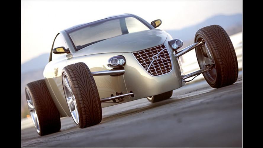 Voll verrückter Volvo: Roadster T6 macht Männer an