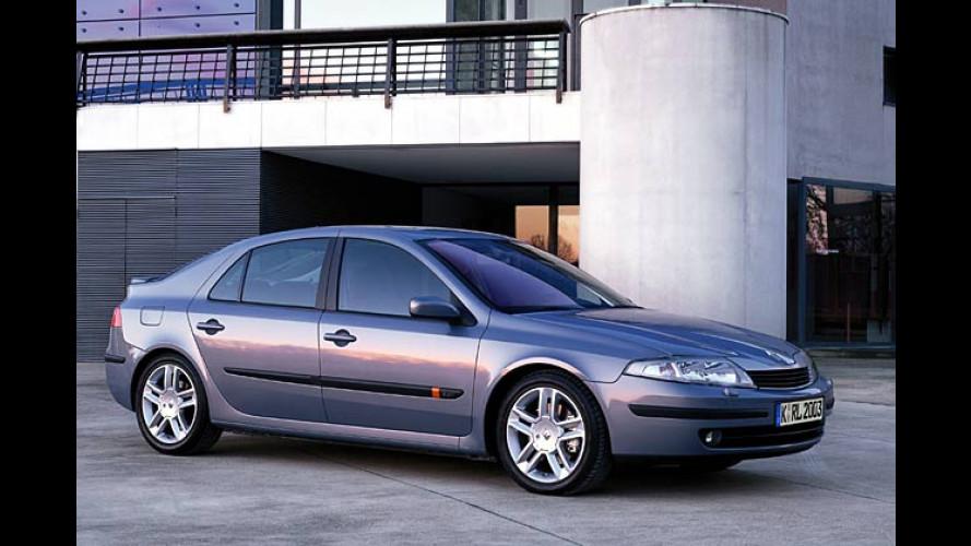 Renault Laguna 2.2 dCi: Weniger PS, aber mit Partikelfilter