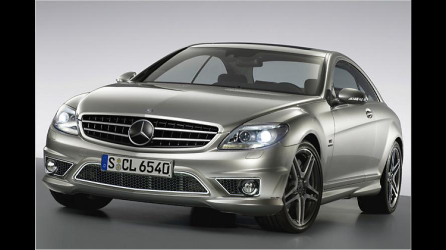 Mercedes: CL 65 AMG und CLK 63 AMG Black Series