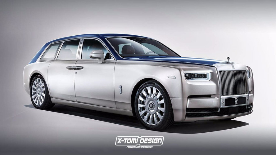 Rolls-Royce Phantom'a Shooting Brake yorumu
