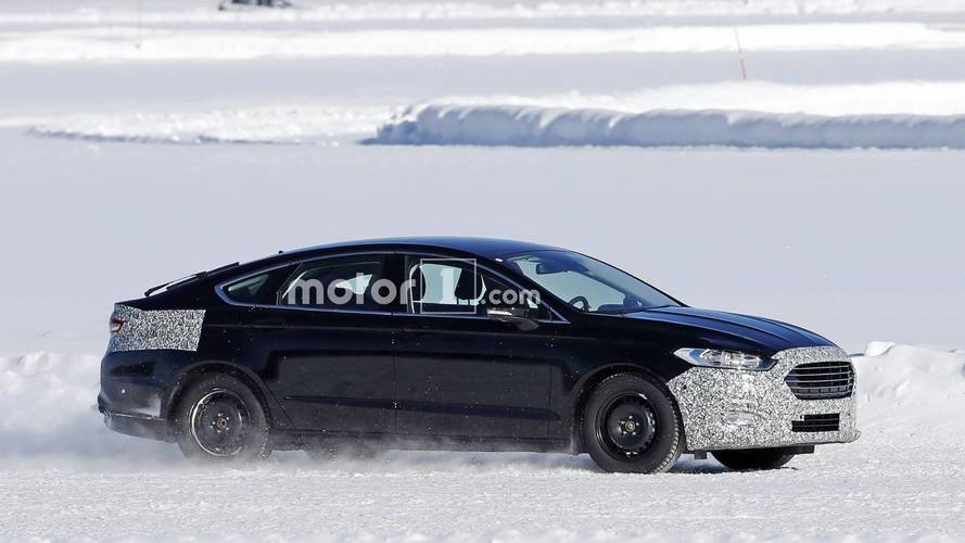 Ford Mondeo Facelift Spied For The First Time In Sweden