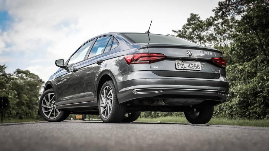 Sedãs compactos em março – Volkswagen Virtus dispara na ponta