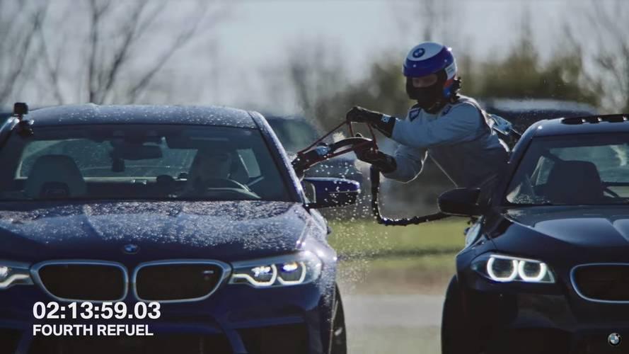 Majdnem a Bluetooth kapcsolaton úszott el a BMW driftrekordja