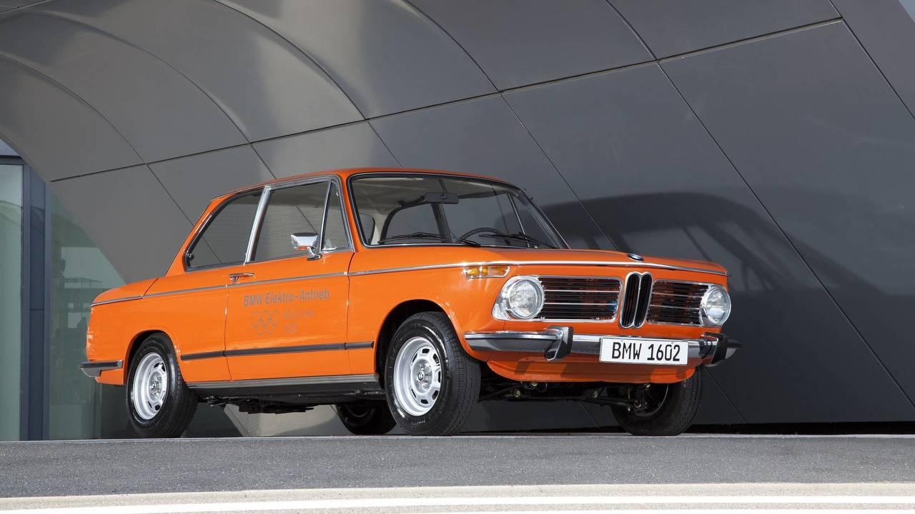 10. 1972 BMW 1602e konsepti