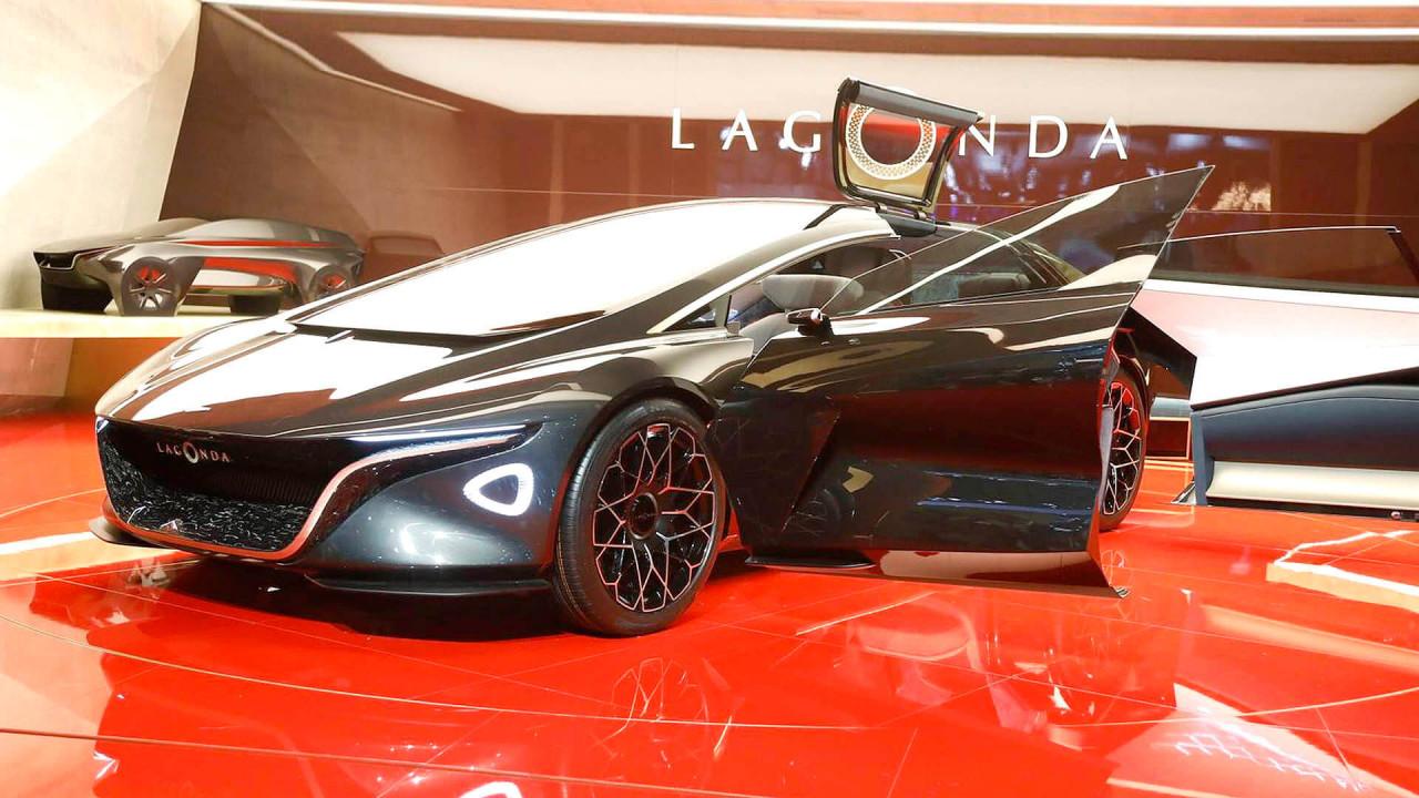 Flop (Stefan Wagner): Lagonda Vision Concept