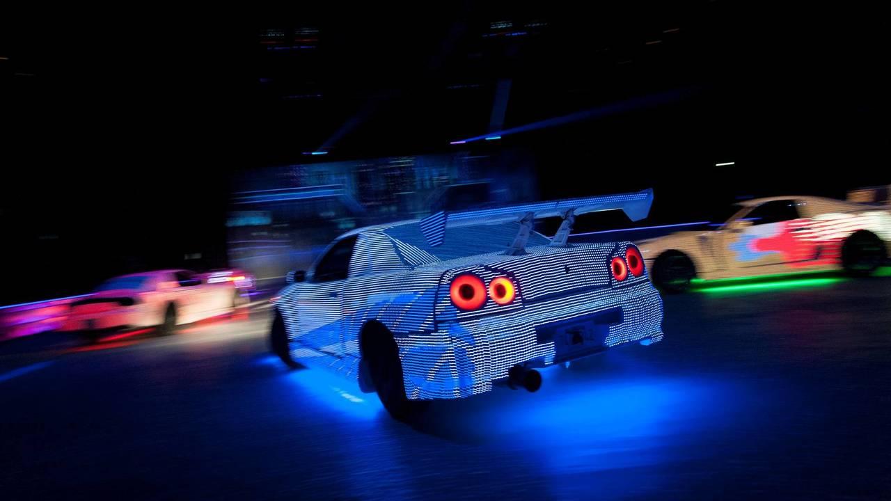 LED-es autók