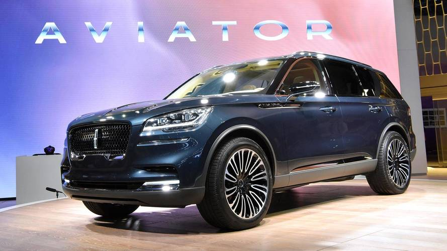 Lincoln Aviator Flies Into New York As A Preview Of What's To Come