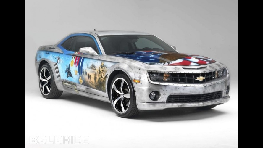 Chevrolet Camaro Military Tribute