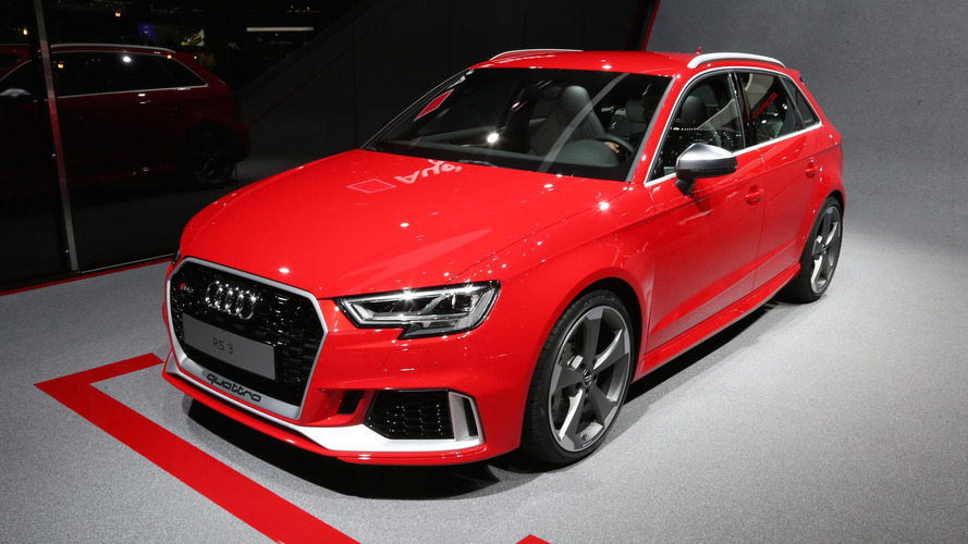 Facelifted Audi RS3 brings its boot to Geneva, packs 400hp