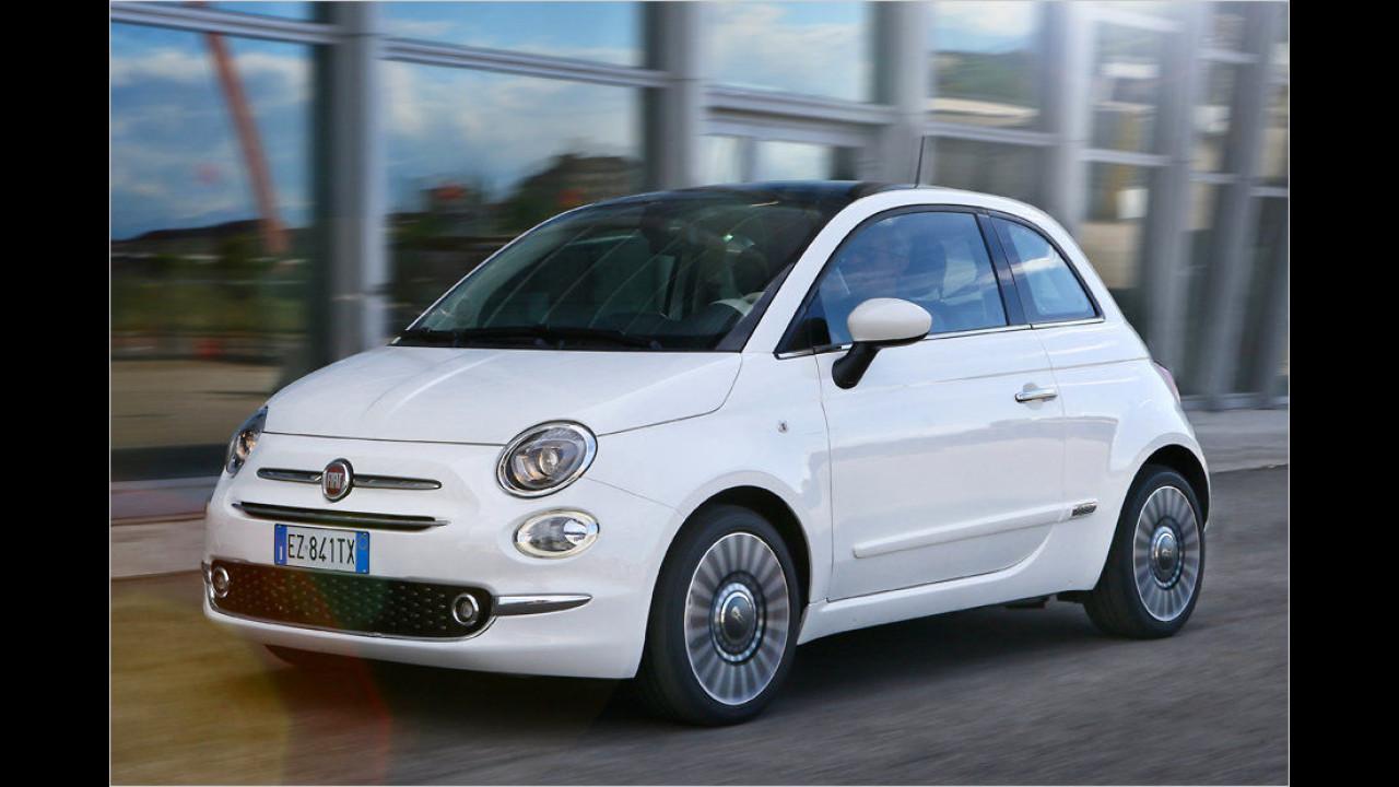 Für den Schwabing-Bummel: Fiat 500