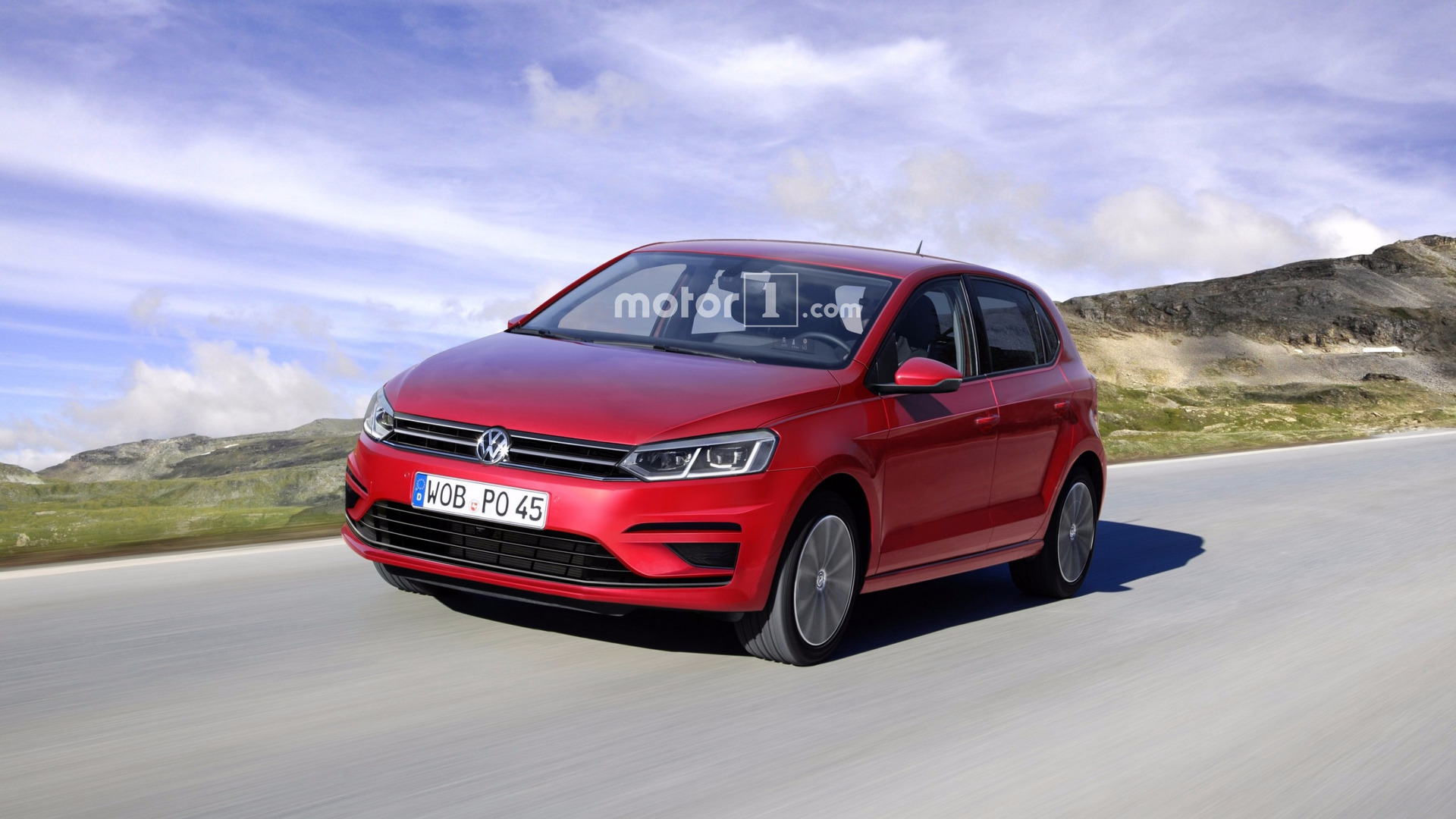 will the 2018 vw polo look like this render. Black Bedroom Furniture Sets. Home Design Ideas