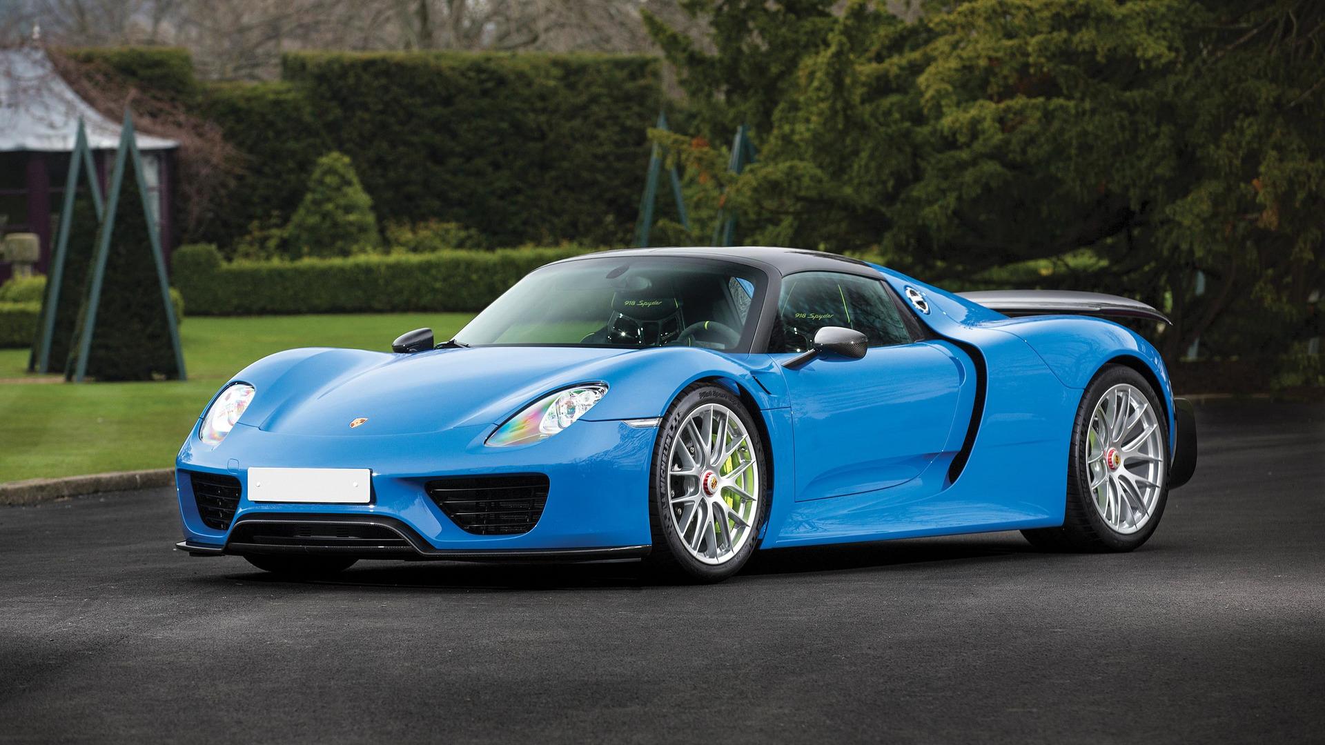 arrow-blue-porsche-918-spyder Remarkable Porsche 918 Spyder In London Cars Trend