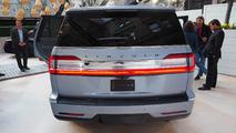 2018 Lincoln Navigator Black Label at New York Auto Show