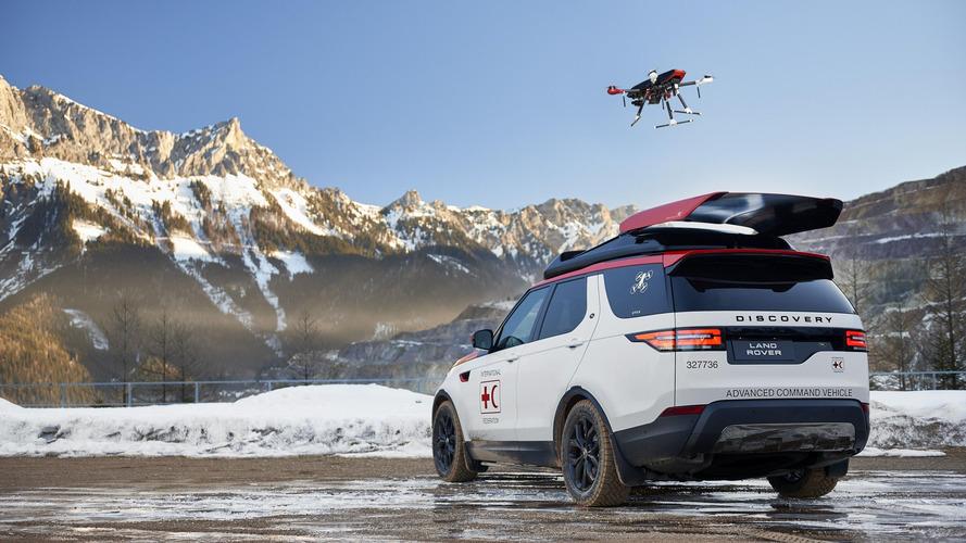 Land Rover Discovery Project Hero konseptinin kendi drone'u var