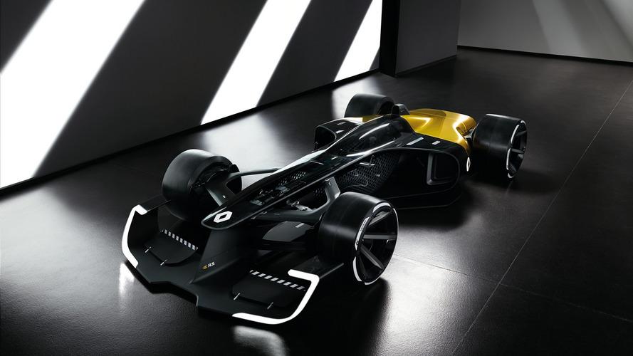 Shanghai 2017 - Une vision de la F1 du futur avec le concept R.S.2027 de Renault