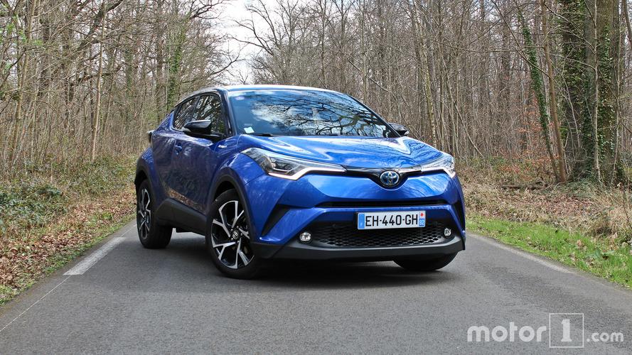 Essai Toyota C-HR - Objet roulant non identifié
