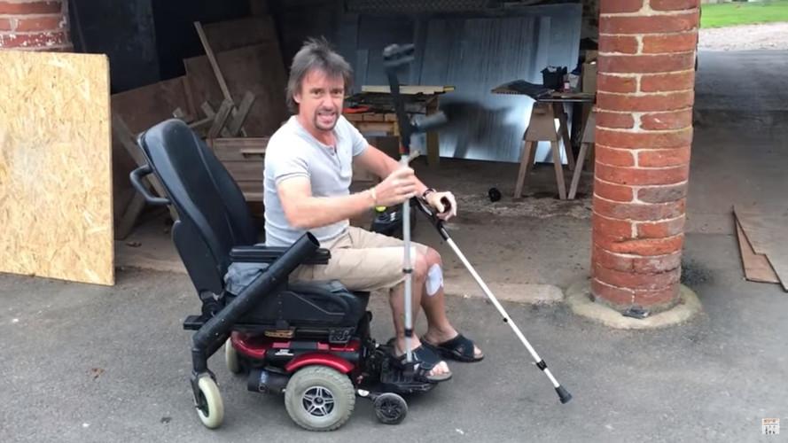 Richard Hammond yeni elektrikli aracı ile hava atıyor