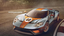 WCF reader envisions 2017 Ford GT with the classic Gulf livery