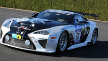 Lexus LFA Code X for the Nürburgring 24 Hour endurance race