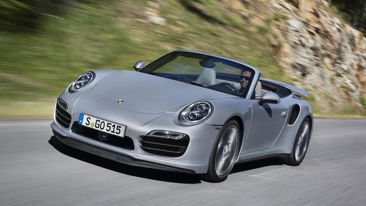 2014 Porsche 911 Turbo Convertible