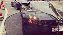 Two Pagani Huayras 26.10.2013