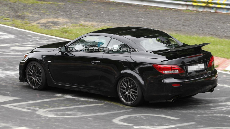 2014 Lexus IS spied as an IS F Cabrio