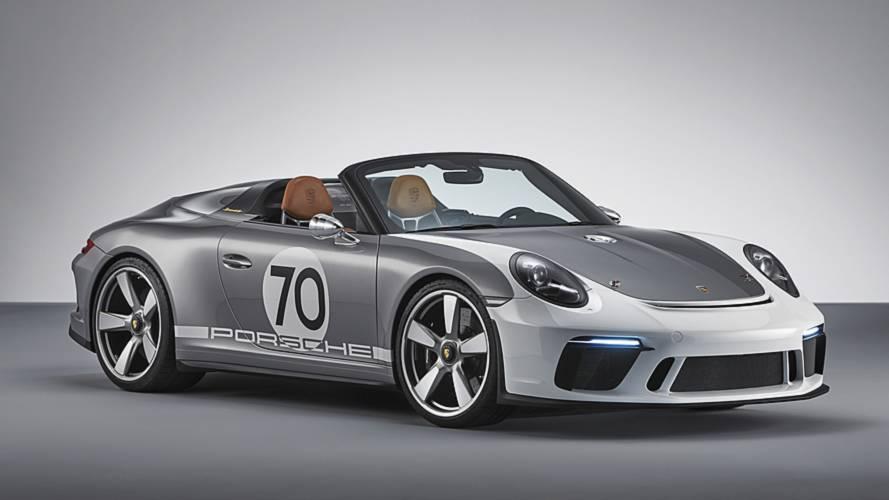 Porsche 911 Speedster, il concept che guarda al passato
