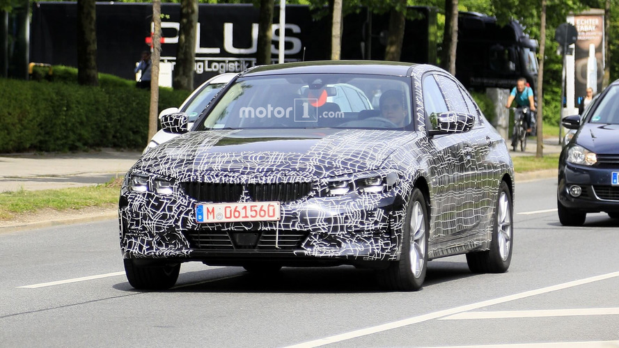 2019 BMW 3 Series Sedan new spy photos