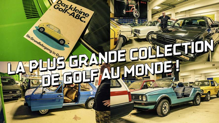 DIAPORAMA - Voici la plus grande collection de Volkswagen Golf au monde !